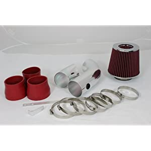 96 97 98 99 C/k1500 Silverado Cheyenne 5.0 5.7 V8 Short Ram Intake Red (Included Air Filter) #Sr-ch006r