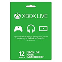 McBoson? Microsoft Xbox LIVE 12 Month Gold Membership (Physical Card) by MCBoson?