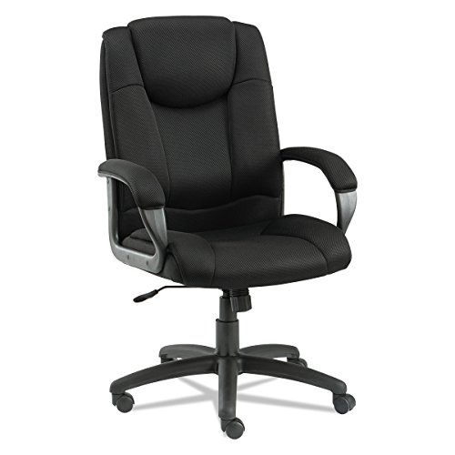 High Back Swivel Tilt Chair - Alera ALELG41ME10B Logan Series Mesh High-Back Swivel/Tilt Chair, Black