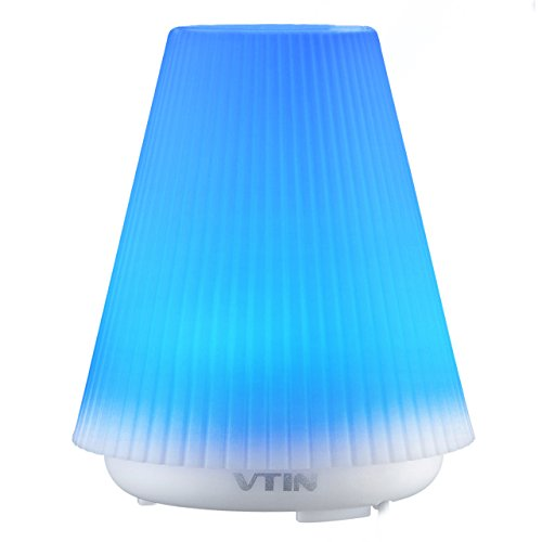 Purchase Vtin 100ml Aromatherapy Essential Oil Diffuser Air Humidifier with 7 Changing Colors Auto S...