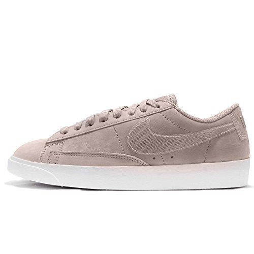 Nike Women's W Blazer Low Lx Gymnastics Shoes Moon Particle - White XJmkfvwth
