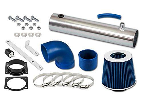 RL Concepts Blue Short Ram Air Intake Kit + Filter 95-00 Ford Explorer Ranger All Model with 4.0L OHV V6 Engine