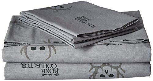 Bone Collector Sheet Set, Full, Black/Grey