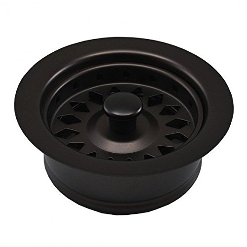 Jones Stephens Oil Rubbed Bronze Disposal Assembly Fits In-Sink-Erator