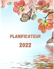 planificateur 2022: agenda 2022 en français,8.5x11 pouces 120 pages