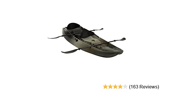 Lifetime 10 Foot Two Person Tandem Fishing Kayak With Paddles