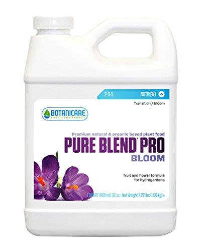 Pro Pure Grow Blend (Botanicare PURE BLEND PRO Bloom Soil Nutrient 2-3-5 Formula, 1-Quart)