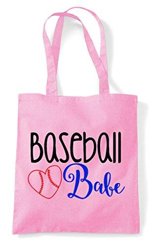Bag Sports Tote Pink Light Babe Baseball Shopper xaZfzAw