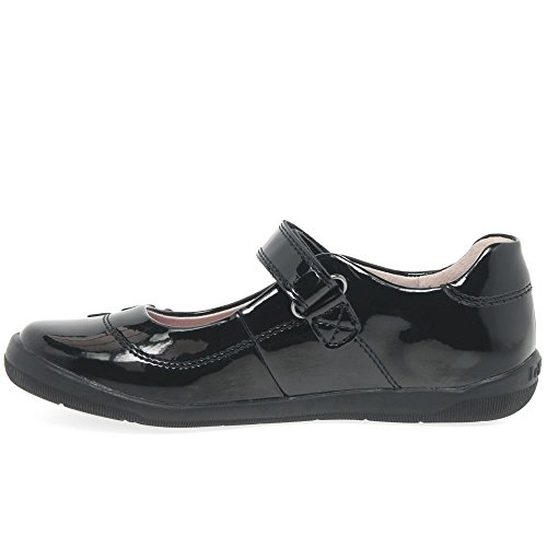 UK Shoes Lelli 5 LK8264 F Kelly Fitting DB01 31 Patent Black School Leora 12 qfPqwFU