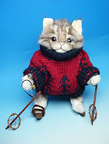 KJ Lyons-カレンさんの猫ちゃんスキーイングキャット   B00ZQ6UPX0
