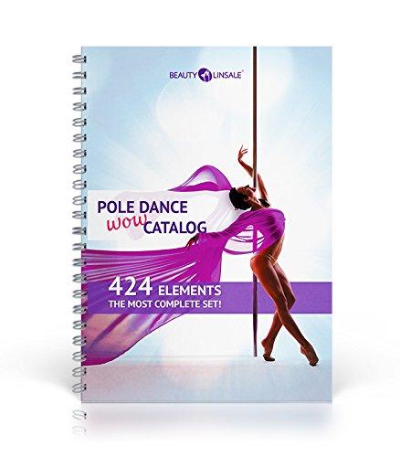 POLE DANCE WOW catalog. 424 elements. The most complete set! (Dance Pole Classes)