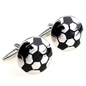 Football Pattern Cufflinks