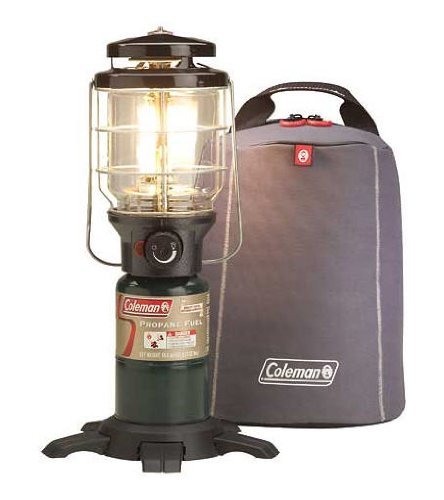 Coleman NorthStar PerfectFlow InstaStart Propane Lantern With Soft Carry Case, Outdoor Stuffs