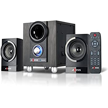 Amazon Com Axess Ms3912 Mini Entertainment System With Am