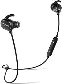 Bluetooth イヤホン (JPRiDE) JPA1 MK-II iphone7 対応 ブルートゥース 4.1 AAC aptX 高音質コーデック対応 ワイヤレスイヤホン 超小型 軽量 12.7g APT-X IP64 防塵防水 CVC6.0 ノイズキャンセリング マイク内蔵 ハンズフリー通話 技適認証済 (AAC APT-X 両対応 ブラック)