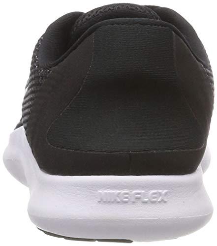 001 Chaussures Nike Femme De Compétition Wmns Noir Flex Running white 2018 black Rn RwqO7xR4