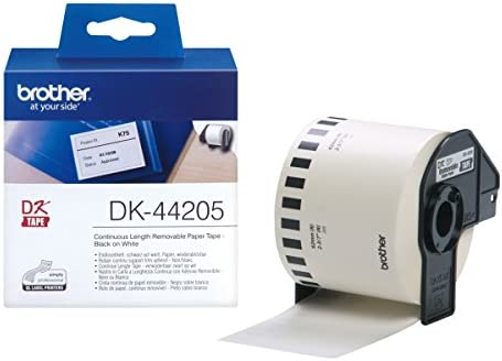 Brother DK44205 - Etiquetas, color blanco