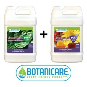 Pro Blend Pure Grow (Botanicare Pure Blend Pro Hydro Combo Kit: Grow and Bloom (1 Quart))