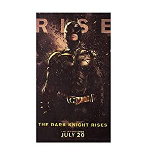 Movie posters Batman nostalgia Vintage kraft paper poster indoor Bar Cafe decorative painting