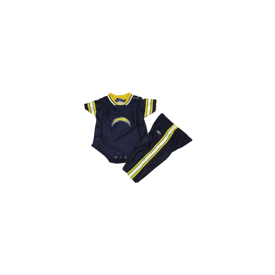 San Diego Chargers NFL Baby / Infant 2 Piece Dazzle Onesie