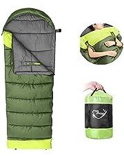 NACATIN Schlafsack für Erwachsene Leichter Deckenschlafsack mit kleinem Packmaß für Outdoor und Indoor im Winter,-10°bis 15°,zum Verbinden für 2 Personen