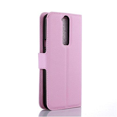 Funda ZTE Axom mini,Manyip Caja del teléfono del cuero,Protector de Pantalla de Slim Case Estilo Billetera con Ranuras para Tarjetas, Soporte Plegable, Cierre Magnético F
