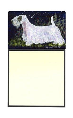 "Caroline's Treasures SS8145SN Sealyham Terrier Refillable Sticky Note Holder or Postit Note Dispenser, 3.25 by 5.5"", Multicolor"