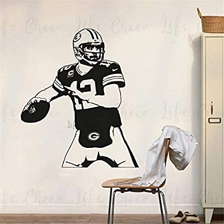 Geiqianjiumai American Football Player Wall Sticker Athlete ...