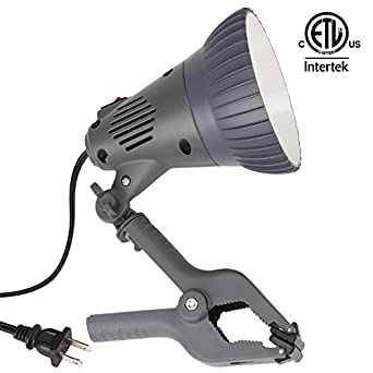 Etl Listed 12w Led Clamp Work Lamp Integrated 360