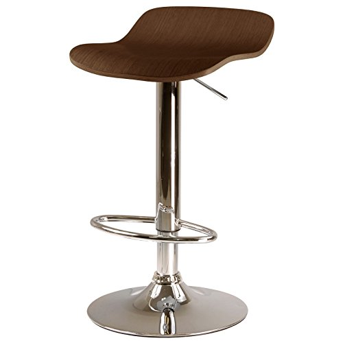 - Kallie Airlift Adjustable Stools, Set of 2, Cappuccino Seat + Expert Guide