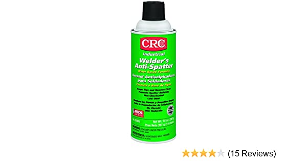 CRC Water Based Welders Anti Spatter Spray Coating, 14 oz Aerosol Can, Milky White - 2 Pack - - Amazon.com