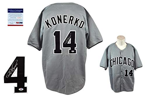 Paul Konerko Autographed Signed Jersey - Beckett Authentic