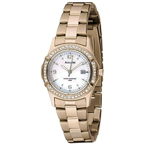 Accurist Ladies Gold Watch LB1544P