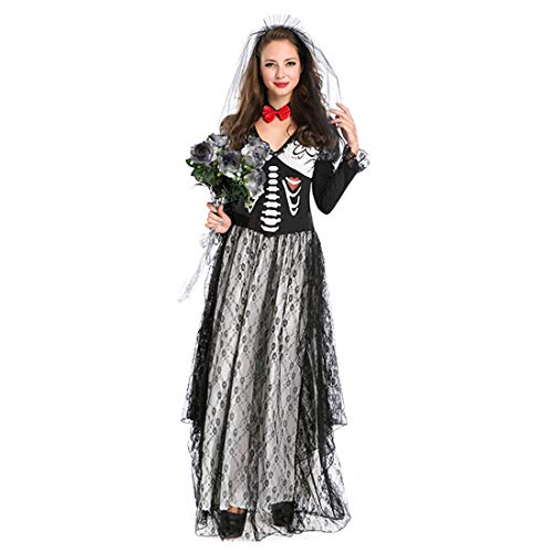 (Ghost Festival Zombie Bridal Dresses Halloween Game Suits Cosplay)