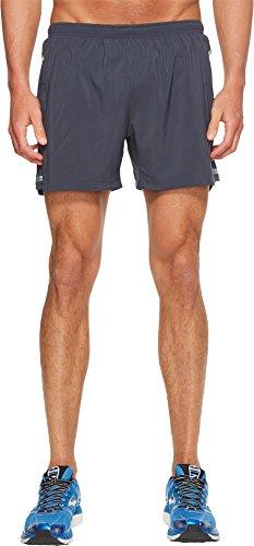 Brooks Men's Sherpa 5'' Shorts Asphalt Small 5 by Brooks (Image #3)