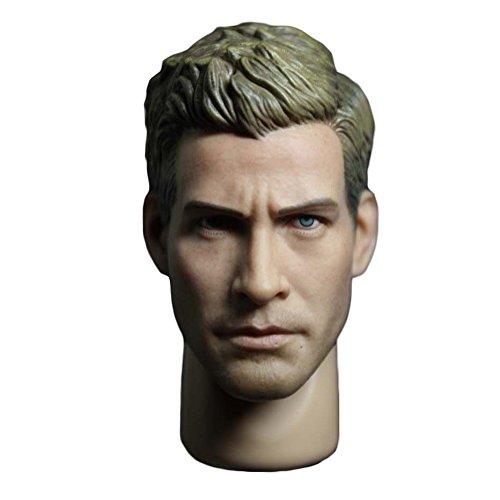 Phicen Custom Head Sculpt for 1/6 Scale Male Body