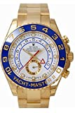 Men's 18K Gold Rolex Yachtmaster II Model # 116688 by Rolex