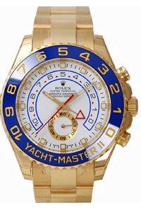 Men's 18K Gold Rolex Yachtmaster II Model # 116688 by Rolex