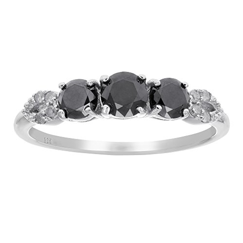 1-ct-black-diamond-ring-with-pear-design-sterling-silver-in-size-8