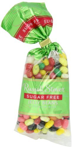 Russell Stover Sugar Free Jelly Beans, 7-Ounce Bags  by Russ