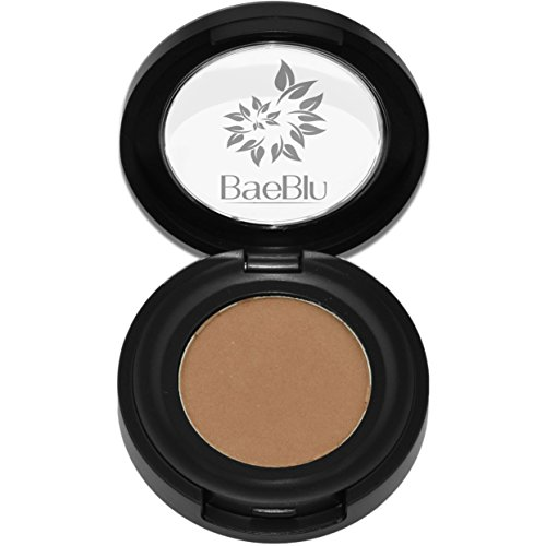 Best Organic 100% Natural Vegan Eyeshadow Makeup, Made in USA, Finely Pressed Velvety Smooth Eyeshadow Pigment by BaeBlu, Bamboo