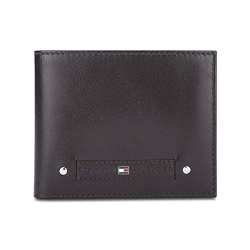 Tommy Hilfiger Brown Leather Men #39;s Wallet  8903496153484