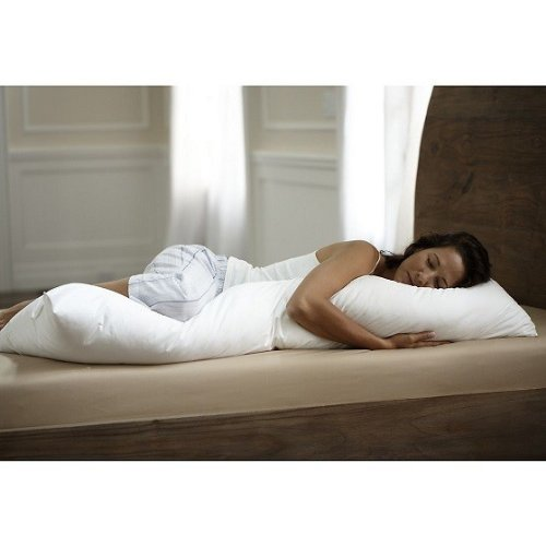 Hungarian Goose Down Alternative Body Pillow Made in USA