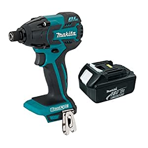 Makita XDT08Z 18-Volt Cordless Brushless Impact Driver with 3 Ah BL1830 Battery
