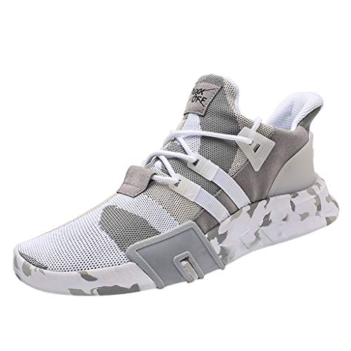 RAINED-Men's Sports Shoes Breathable Sneakers Lightweight Camouflage Versatile Youth Boys Gym Trail Sport Running - Shaper Body Monroe Marilyn