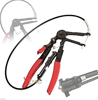 2FT Flexible Wire Long Reach Hose Clamp Pliers For Fuel Oil Water Hose Auto Tool