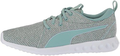 Flower Chaussures Puma 2 Carson blue Wn's Knit Femme Nature Aquifer 6afwvqz