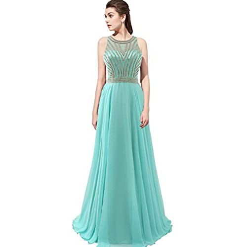 Aqua Prom Dress Long: Amazon.com