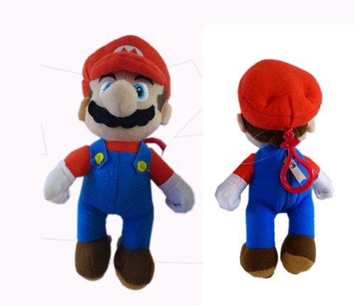 Mario Plush KeyChain - Super Mario Coin Purse (7 Inch)
