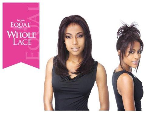 (FreeTress Equal FUTURA Whole Lace Wig - EMERALD - 1B OFF)